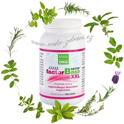 Factor Base Detox XXL 180 tbl.