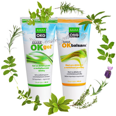 Ok Gel 60 ml a Ok Balsam 60 ml